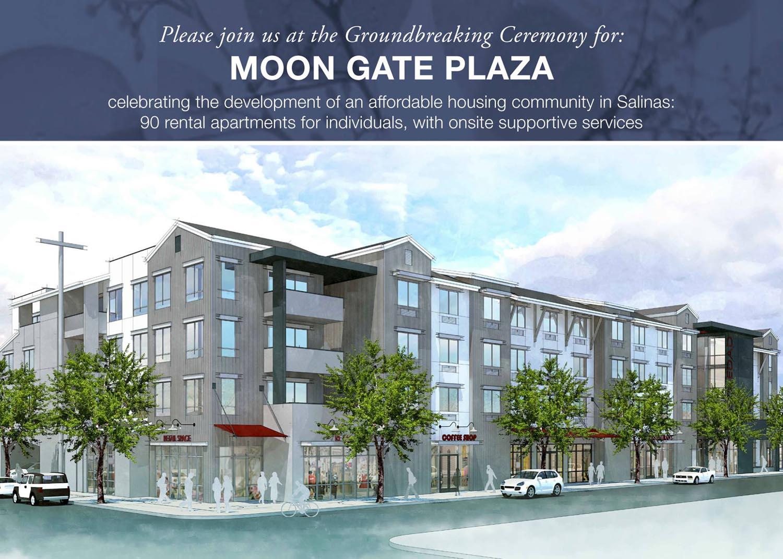 MJS Landscape Architecture | Moon Gate Plaza Groundbreaking